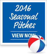 2016 Seasonal Pitches